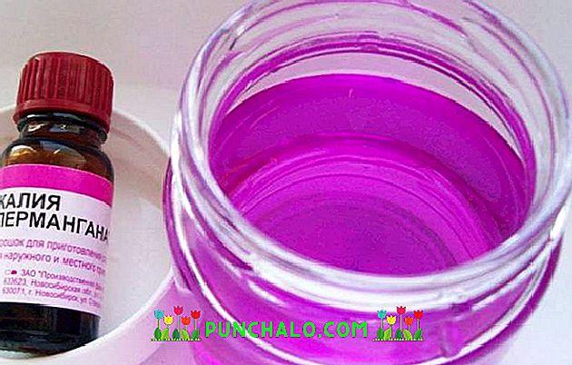 kálium-permanganát kezelés pikkelysömörhöz)