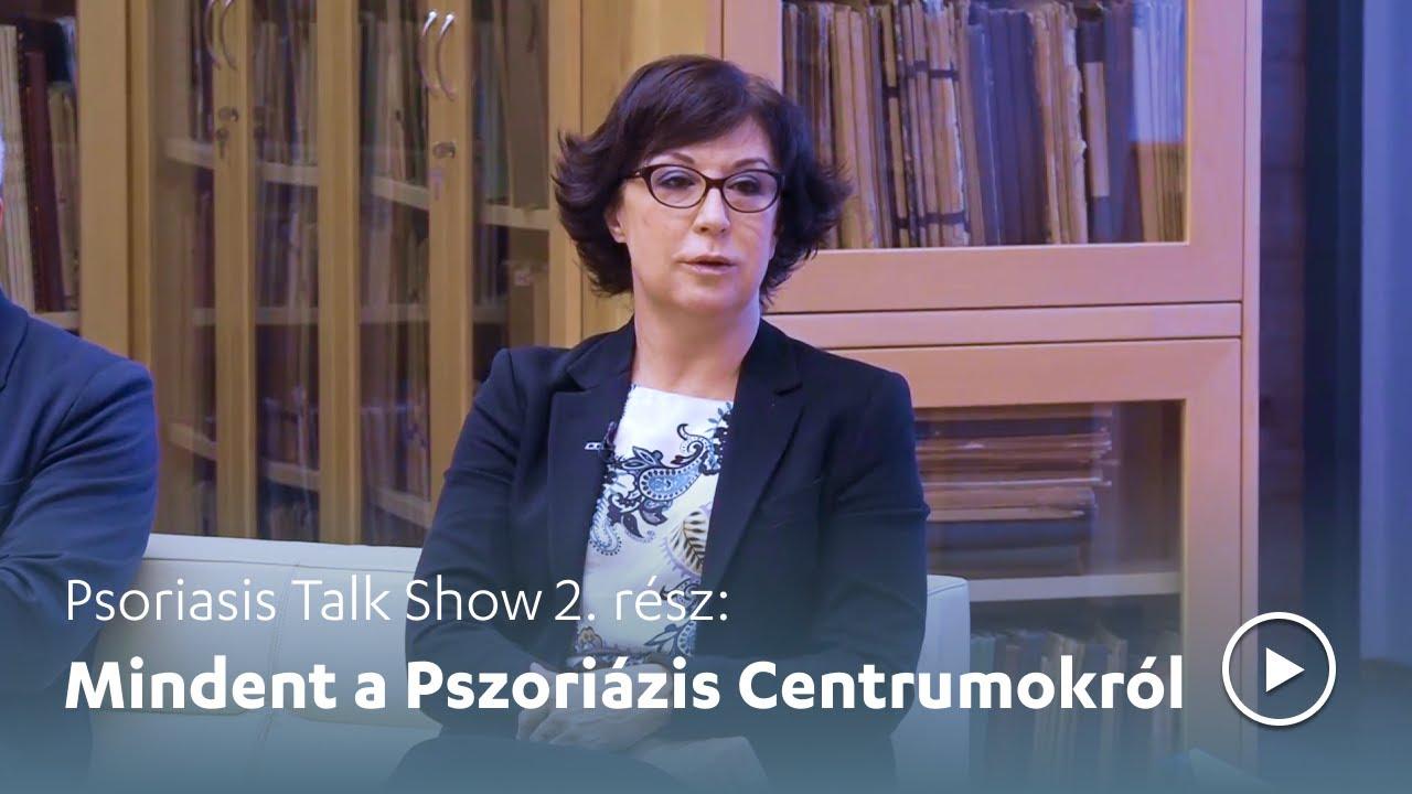 Online talkshow a Pikkelysömör Világnapján