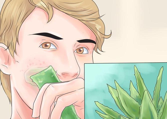 tisztítsa meg az arcát a vörös foltoktól