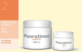 Psoratinex Gél 200ml - Pikkelysömör kezelése