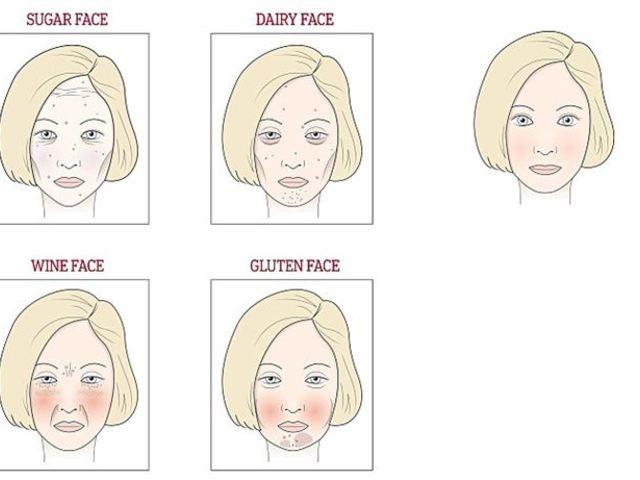 amit az arcon vörös foltok bizonyítanak)