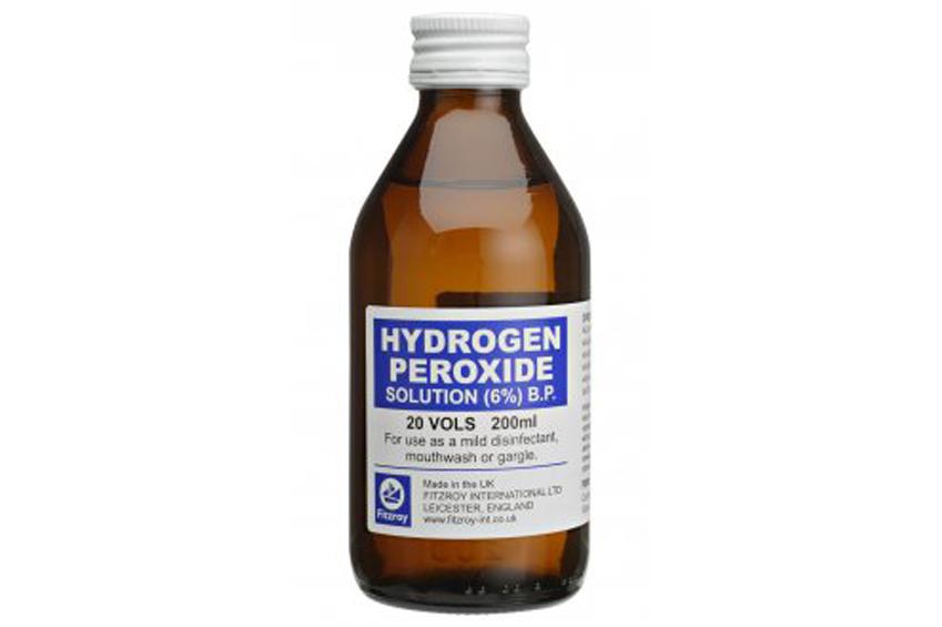 pikkelysömör kezelése hidrogén-peroxiddal